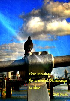 London,Thames,haiku,poem,haiga,