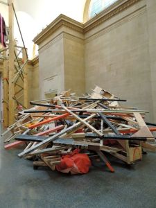 Tate Installation, Phyllida Barlow,