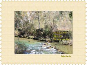 River Ammer,Ettal,Oberammergau,haiga,