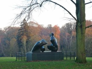 Henry Moore,Hampstead Heath,