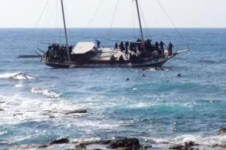 Migrant ship sinking