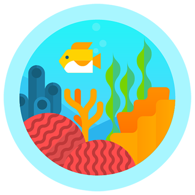 Great Barrier Reef fitbit badge