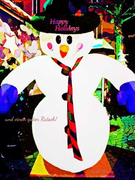 snowman,holidays,New Year 2016