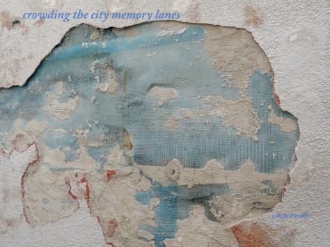 plaster,haiga,haiku,city,