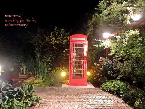 time travel,haiga,red phone box,