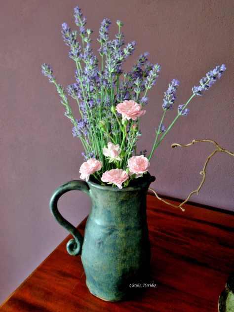 lavender,rose,