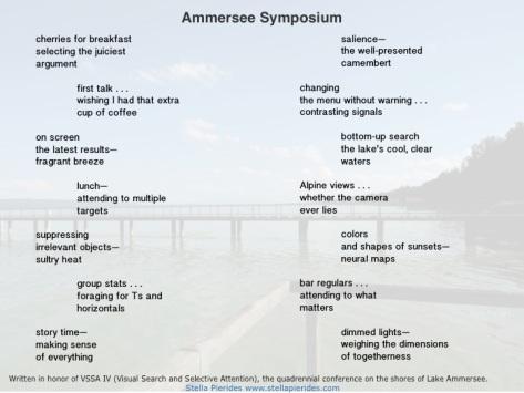 Ammersee Symposium haiku