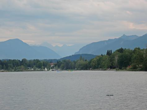 Alpenblick, Uffing,Staffelsee,