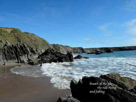 Marloes Sands,tide,