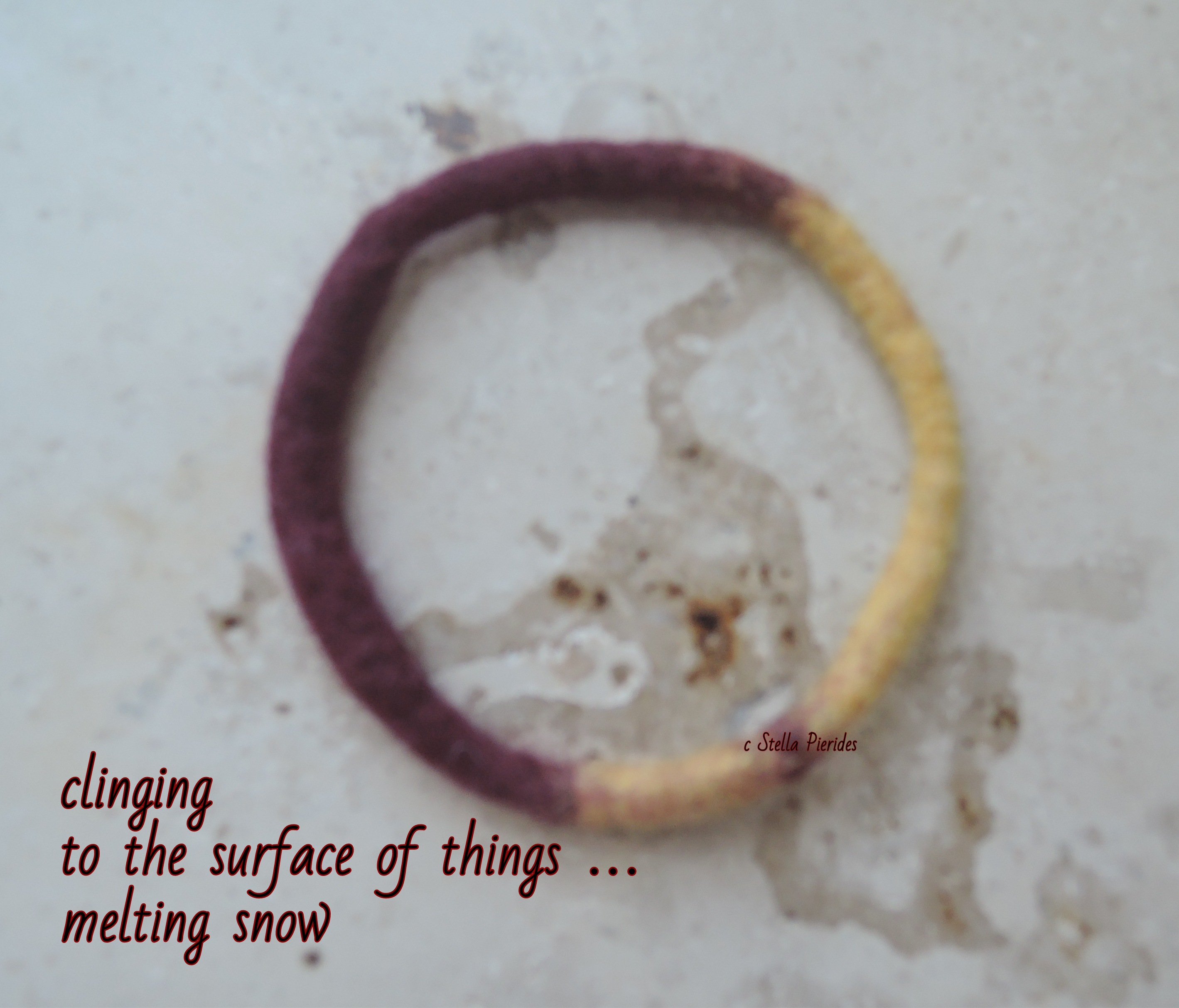 bracelet,haiga,haikufeltings,