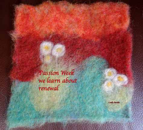 Passion Week,haiga,haikufeltings,