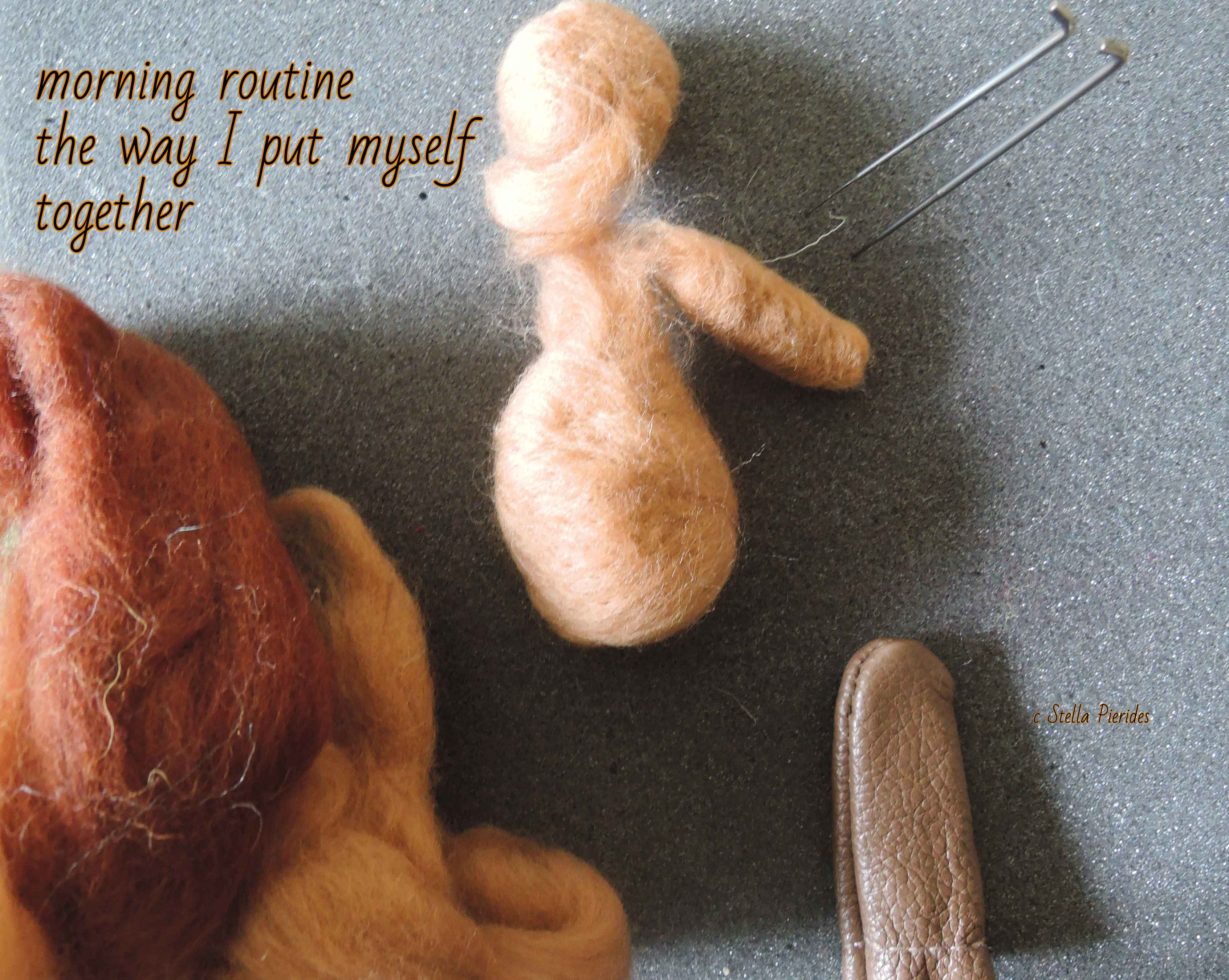 haiga,wool,doll,