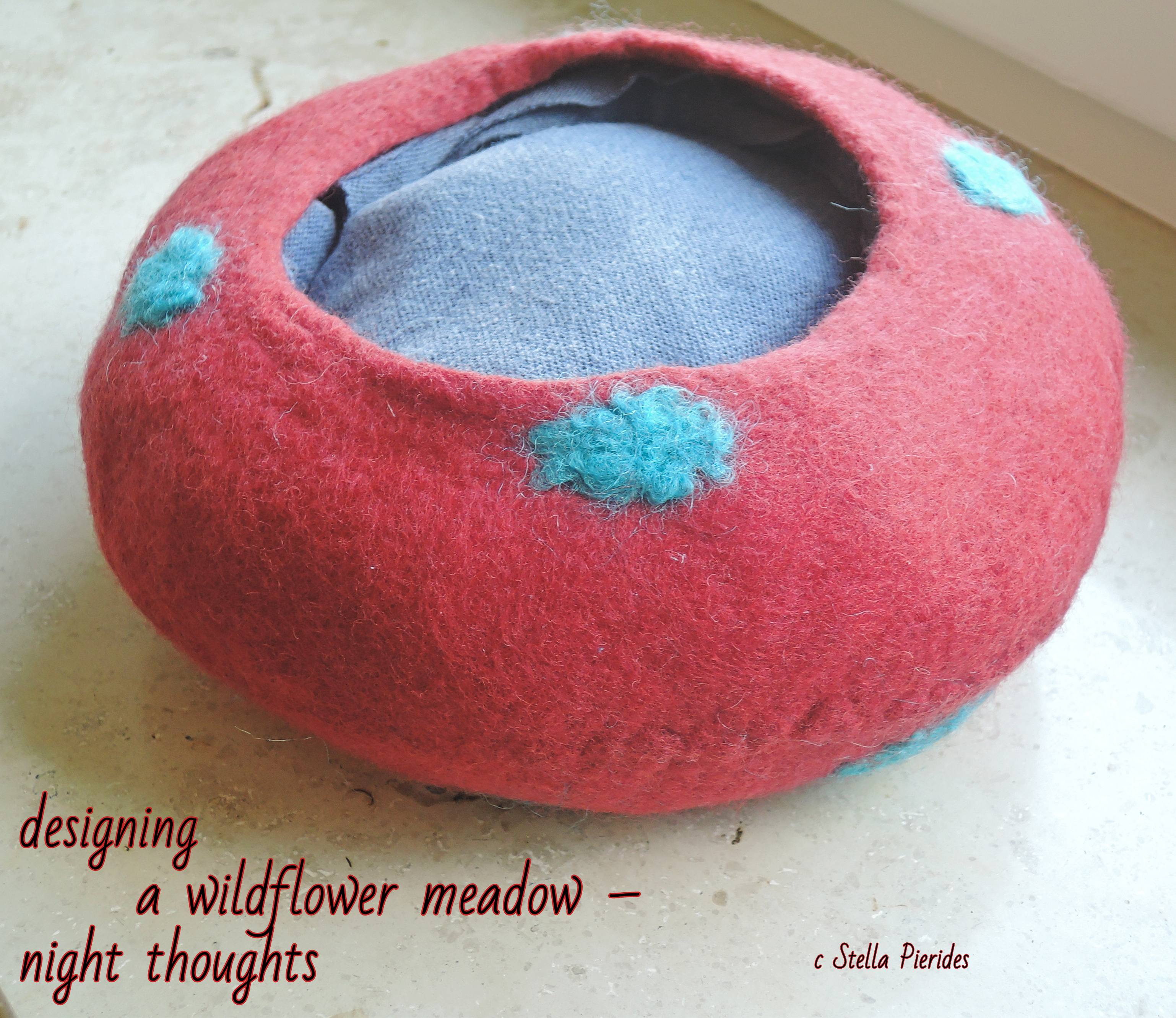 felted bowl,haikufeltings,