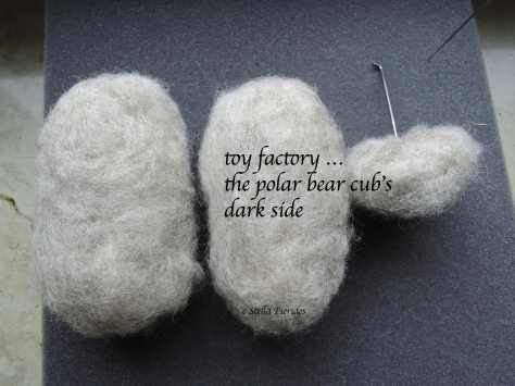 haiga, haikufeltings, toy factory,