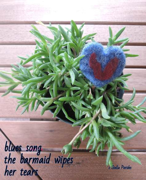 heart, haikufelting,