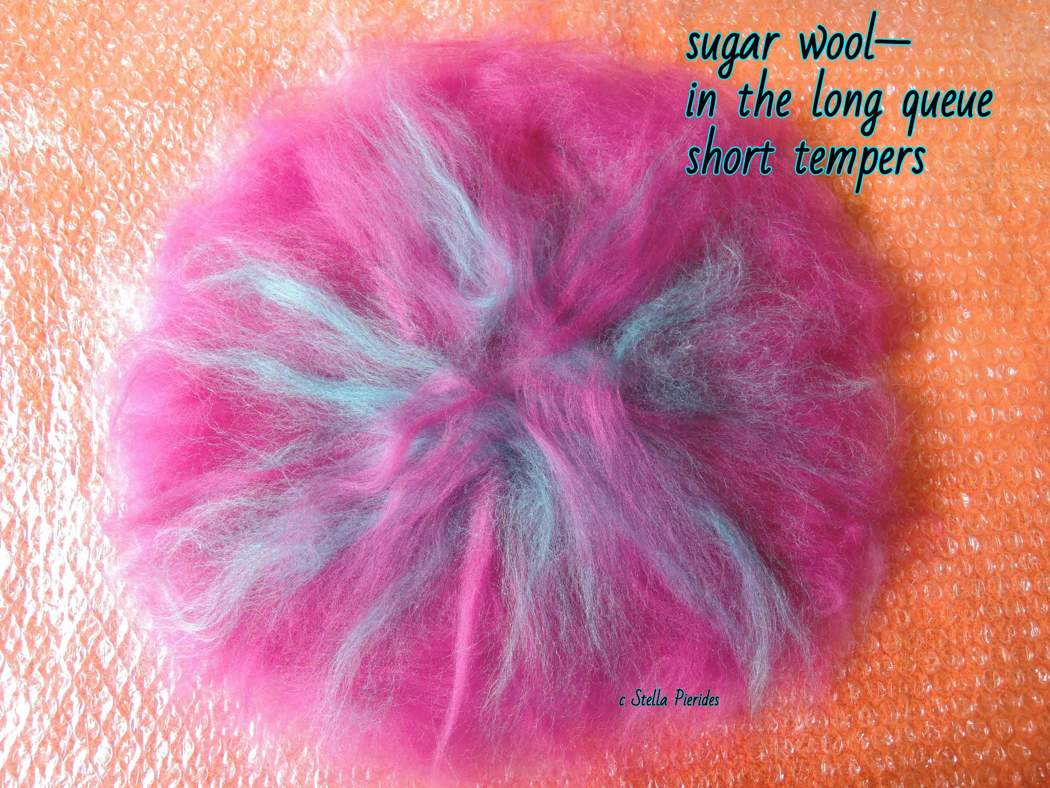 sugar wool,