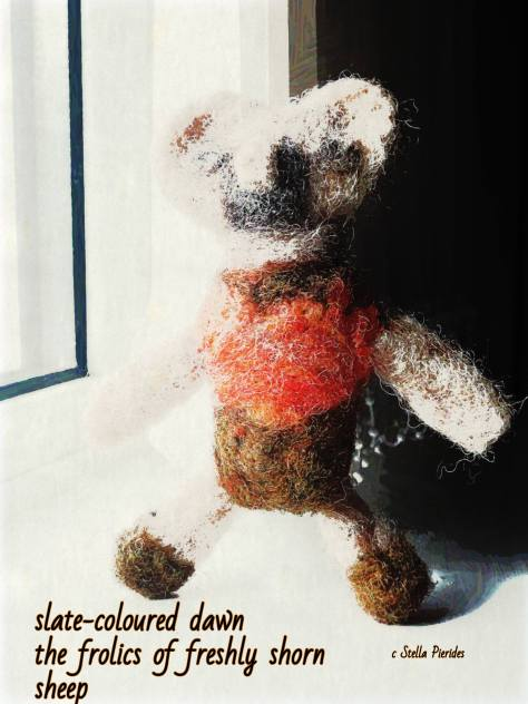 felted toy, haikufeltings,