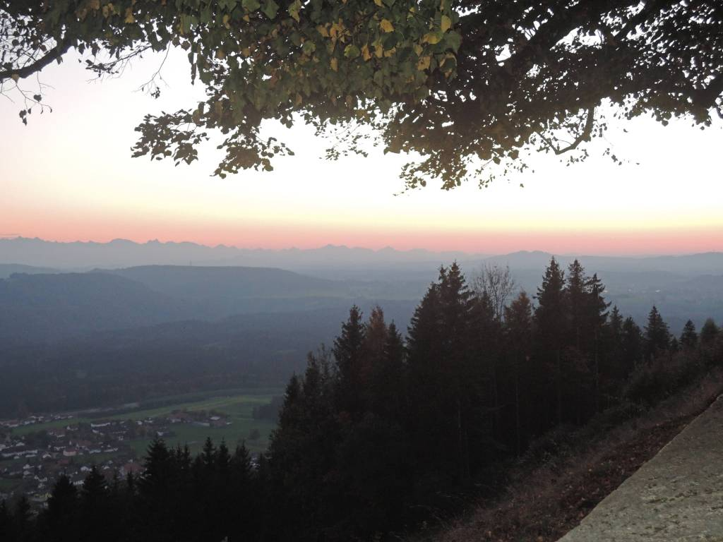 fog, Peissenberg,