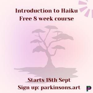 haiku for Parkinson's